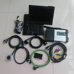 Wholesale used engines - 2018 top mb scanner mb sd connect c5 with x200t laptop installed with mb star c5 hdd 2018.05v full set direct use