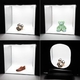 2PCS LED Portable Portable Softbox Box 42 * 42cm LED Photo Photographie Studio Vidéo Tente d'éclairage avec LED Light D1722 à partir de fabricateur