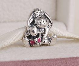 Wholesale 925 Ale Sterling Silver Bracelet - pandora Eeyore Silver Charm 925 ale sterling silver charms loose beads diy jewelry wholesale for thread bracelet