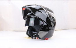 Wholesale Jiekai Lens - JIEKAI 105 Helmets Motorbike undrape face helmet motorcycle double lens helmet face mask off road 7colors can choose