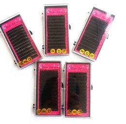 Wholesale Mink Prices - Wholesale-(5pics lot)Best quality Faux mink eyelashes extensions 0.07 C Korean eyelashes extension with factory price