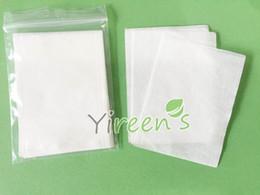 Wholesale Empty Tea Bags Heat Seal - Free shipping! 100pcs 60 X 80mm Heat sealing tea bag, disposable empty tea bag, food-grade filter paper, clean filter bag