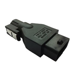 Wholesale Gm Tech High Quality - High Quality 10pin To OBDII 16Pin Connector for Old Opel with GM Tech2 Tech II Diagnostic Scanner.