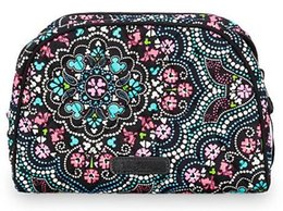 Wholesale Medium Makeup Bag - Medallion Medium Cosmetic Bag Travel Toiletry Bags Cosmetic Bags Storage Organizer Bag Fashion Makeup Bag