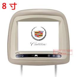Wholesale Headrest Digital Touch Screen - Cadillacs headrest display car hd 8 touch digital screen