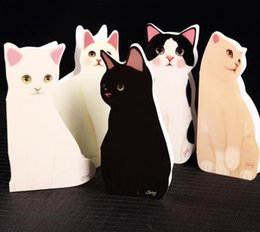 Wholesale Jetoy Cute - Greeting card jetoy cute kitty stereo card Christmas blessing card wholesale custom with envelopes