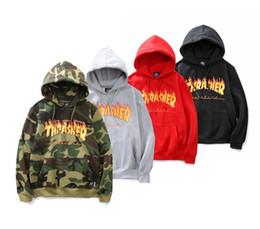 Wholesale Flame Logo - hip hop women men new popular flame logo women men jacket hoodedies sweatshirts fashion lovers hoodies sweatshirts warm autumn winter hoodie