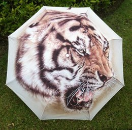 Wholesale Chinese Umbrellas For Sale - Wholesale-Free shipping 2015 hot sale traditional chinese painting umbrella   east-northern tiger paten umbrella  umbrella for men