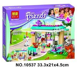 Wholesale Plastic Clinic - LOLTOY BELA 10537 Friends Vet Clinic Blocks Toys for children Bricks Toys