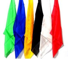 Wholesale Magic Props For Sale - Free shipping Hot sale silk scarves 60cm*60cm silk disappears for magic performance magic props magic tricks