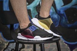 Wholesale Cycling Socks Cheap - 2015 New Fragment X Men Sock Dart Air Presto Men's Running Shoes 100% Original Cheap Best Tennis Jogging Sports Shoes