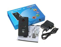Wholesale Hide Spy Camera Phone - CC308 Wireless Anti-spy Full-frequency Detector Almighty for Spy Camera Spy Bug & Phone CC308 Anti-Spy Signal Bug RF Detector Hidden Camera