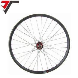 Wholesale Mountain Bike 29er Wheels - TRIPS carbon 29er wheels 30mm width China 29inch MTB bicycle wheels carbon hookless Wheelset mountain bike carbon disc wheel QR