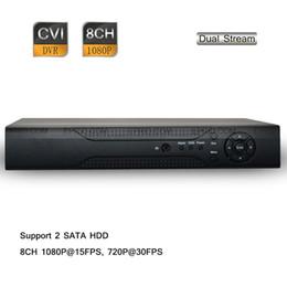 Wholesale H 264 8ch Standalone Dvr - CCTV H.264 8CH 1080P Recording Surveillance HD-CVI Standalone DVR CVR Mobile View