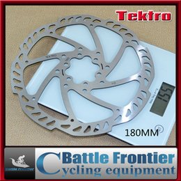 Wholesale Disc Brake Plate - 2015 new 1pcs TEKTRO 160 180 mm bicycle brake disc rotors for road bike mtb cycling brake pads plate 6