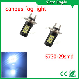 Wholesale Day Driving Led Bulb Car - EverBright 10-Pack White High Power 6000K 5730-29SMD CAN bus Car Vehicle Fog Light Headlight Driving Lamp DRL(Day Running Light) Head Light