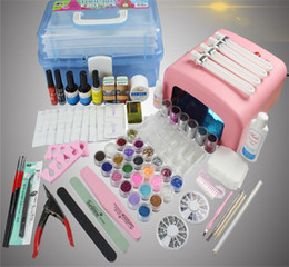 Wholesale Nail Tools Suit - Phototherapy Manicure Tools All Suit Phototherapy Machine Set Of Armor Oil Glue Suit A Full Set Of Phototherapy Lamp Gel Nail Manicure Set
