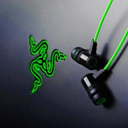 Wholesale Microphone Talk - 2015 New Arrived Razer Hammerhead Pro In-Ear Headphone With Control Talk Stereo Bass Headset For iphone 6 plus 5s s4 s5 note 3 note 4