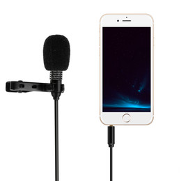 Wholesale Systems Video Free Wire - Free Shipping Mini Microphone 3.5mm ­Professional Grade Omnidirectional Mic with Clip On System ­ Perfect for Recording Youtube  Video Confe