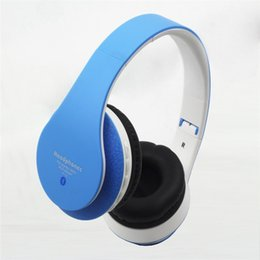 Wholesale Gaming Wireless Card - Gaming Headphones Wireless Bluetooth Headset Headset Subwoofer Headphones Support TF Card Model P13 Retail Free Shipping