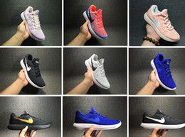 Wholesale Increase Knitting - 2017 Hot Sale best Quality Men Women Rio Lunar Flyknits 2 Low Sports Shoes Free RN Running Shoes Mesh Knit Trainer Sneakers 36-45