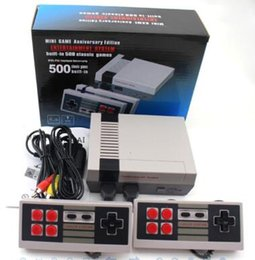 Wholesale Games For Nintendo - 2017 TV Handheld Game Console Mini Video Game Player Console For Nintendo NES Windows PC Mac with 500 620 Built-in Games With Box
