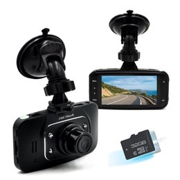 "Wholesale Dual Ir Camera Car Dvr - GS8000L HD 1080P 2.7"" Car DVR Vehicle Camera Driving Recorder G-sensor Motion Detection IR Night Vision with HDMI Interface Wide-angle"