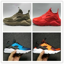 Wholesale Huaraches Basketball Shoes - 2016 Hot SELL Fashion Huaraches 4 IV Running Shoes For Men & Women, High Quality Huaraches Run Ultra Breathable Mesh Cushion Sneakers 36-46