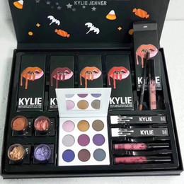 Wholesale Christmas Shipping Gift Box - 2017 New Lipkit Fall Matte Liquid Lipstick Christmas gift box Big Box Free Shipping