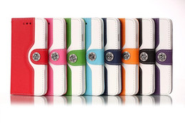 Wholesale Galaxy S4 Case Hot Sell - Hot Sell For iphone 4 4S   5 5S   5C   6   6 plus Samsung galaxy S3 S4 S5 Note 3 Fashion Wallet Leather Case Cover With Credit Card Holder