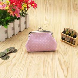 Wholesale Universal Linens - High quality Linen Dot coin purse Women fashion wave stripe coin purse,Faux Leather zero wallet,lovely girl coins purse wallet