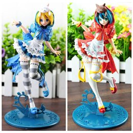 Wholesale Miku Hatsune Hat - 170628 QIUCHANY Toy 23cm Hatsune Miku Red Hat And Blue Hat Action Figure Toy collection Toy Gifts