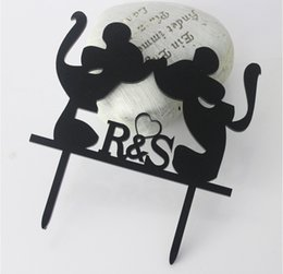 Wholesale Wedding Cake Toppers For Cheap - Mickey Mouse Wedding Cake Topper Wholesale Wedding Decorations Wedding Favors Cake Toppers For Birthdays Cheap Wedding Supplies Wholesale