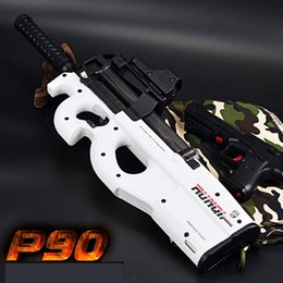 Wholesale Toy Assault Guns - Graffiti Edition P90 Electric Toy Gun Soft Water Bullet Funny Outdoors Children Baby Toy Assault Sniper Weapon Bursts Pistol Gun