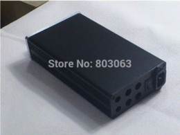 Wholesale 1105 Full Aluminum Enclosure case Preamp box PSU chassis DIY AQ Amplifier Cheap Amplifier