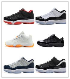 Wholesale Shoes Online - Wholesale Basketball Shoes Retro 11 Xi Low Bred Low Georgetown Sports Shoes Leather Men s Basketball Shoes Online Retro Sneakers Outdoors