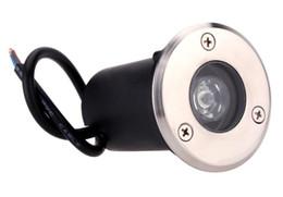 tomada exterior plug inundação Desconto 3w ww / cw conduziu a luz subterrânea enterrou a lâmpada, lâmpada exterior do diodo emissor de luz do inground da lâmpada do jardim IP68