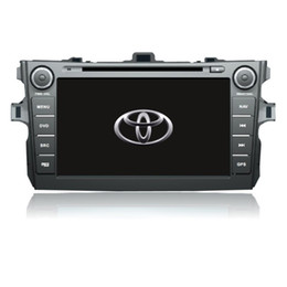 Wholesale Toyota Gps Radio System - Wince Android Maisun touch screen car dvd player for Toyota Corolla with gps system