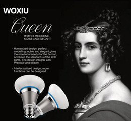 Wholesale Fitting Room Lighting - WOXIU queen majestic Bulb prefect modeling noble and elegant Nozzle Lamp 5W 9W 12W 18W 25Watt 100-265V Light Fits All Models