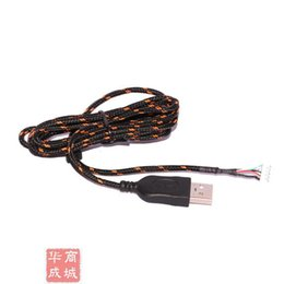 Wholesale Kana Mouse - Wholesale-Free Shipping Steelseries KINZU V2 V3 KANA USB Mouse Cable Replace Cable For Gaming Mouse