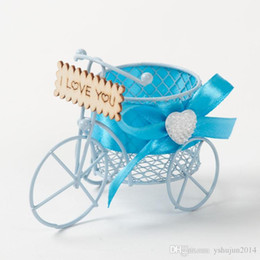Wholesale Fairy Favor Boxes - Romantic Fairy Carriage Wedding Candy Chocolate Favor Boxes Party Decoration Box 8 Colors Available New Wedding Suppliers