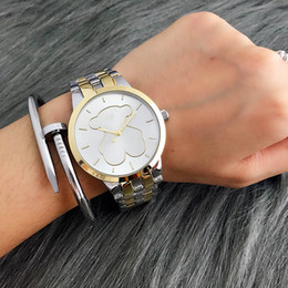 Wholesale Water Wells - 2017 new Well selling fashion Famous casual brand High-quality Mechanics grace style ladies wrist watches and good gift for women's