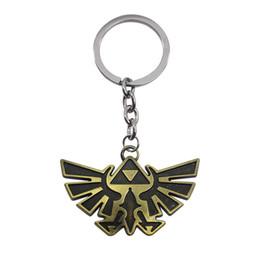 Wholesale Legend Zelda Accessories - European and American accessories and accessories ZELDA legend ZELDA vintage alloy key chain for the design of a unique gift
