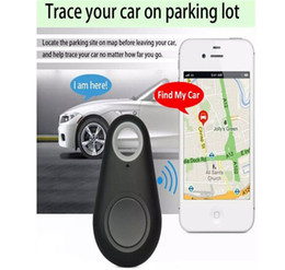 Wholesale Two Way Anti Lost Alarm - HOT GPS Tracker Bluetooth Key Finder Anti-Lost Alarm 8g Two-Way Item Finder for Children,Pets, Elderly,Wallets,Cars, Phone Retail Package