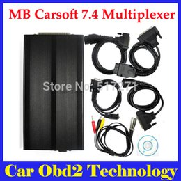 Wholesale High Quality MB Carsoft Multiplexer Diagnostic Tool Read Erase All Fault Codes Read Ecu Information by DHL