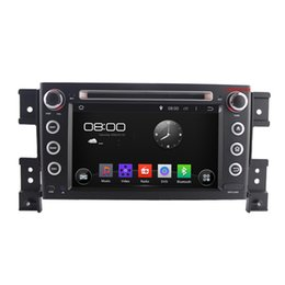 Wholesale Dual Tv Dvd - Free Shipping--Dual-Core 1.6G CPU Android 4.4 Car DVD player for Suzuki Grand Vitara+Radio GPS wifi and DVR, Support 3G OBDII