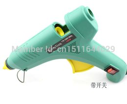 Wholesale Electric Hot Melt Glue Gun - 220V 100W Big Size Electric Heating Hot Melt Glue Gun with Switch Professional Repair Tool +5pcs Glue Sticks order<$18no track