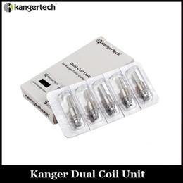 Kanger genitank mega bobinas online-Kanger actualizado doble bobina clon para Kangertech Aerotank Mega Mini Protank 3 Evod Glass 2 T3D atomizadores Genitank