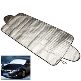 Wholesale Ice Car Cover - Car-styling Car Covers 192 x 70cm Windscreen Auto Cover Heat Sun Shade Anti Snow Frost Ice Shield Dust Protector