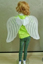 Wholesale Girls Dresses Tinker Bell - 2 colors Angel fairy wings Girls baby toddler adult dress party Butterfly Costume Tinker Bell Halloween Angel Tutu Pixie